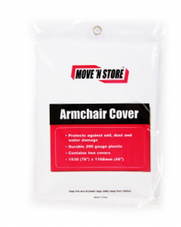 Armchair covers for moving