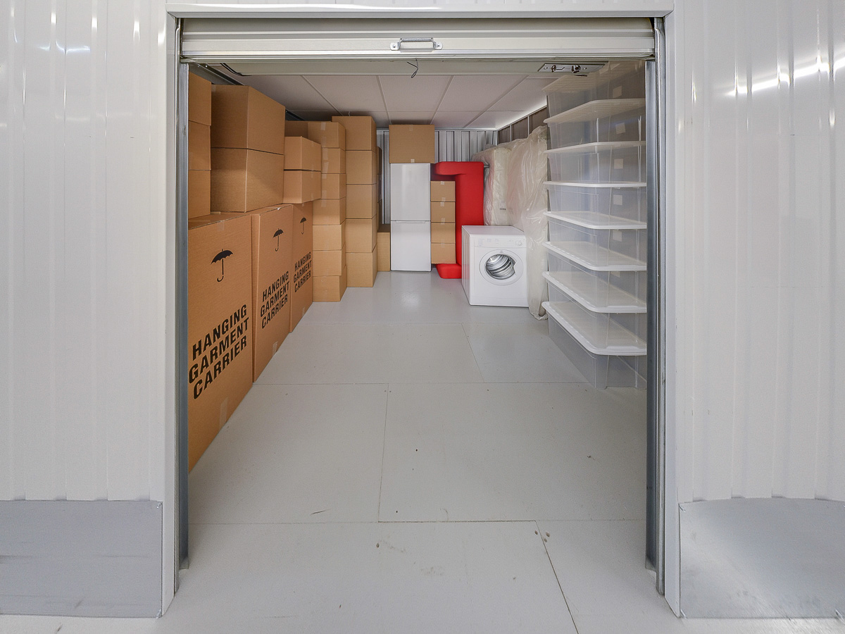 100 Square Ft Storage Room