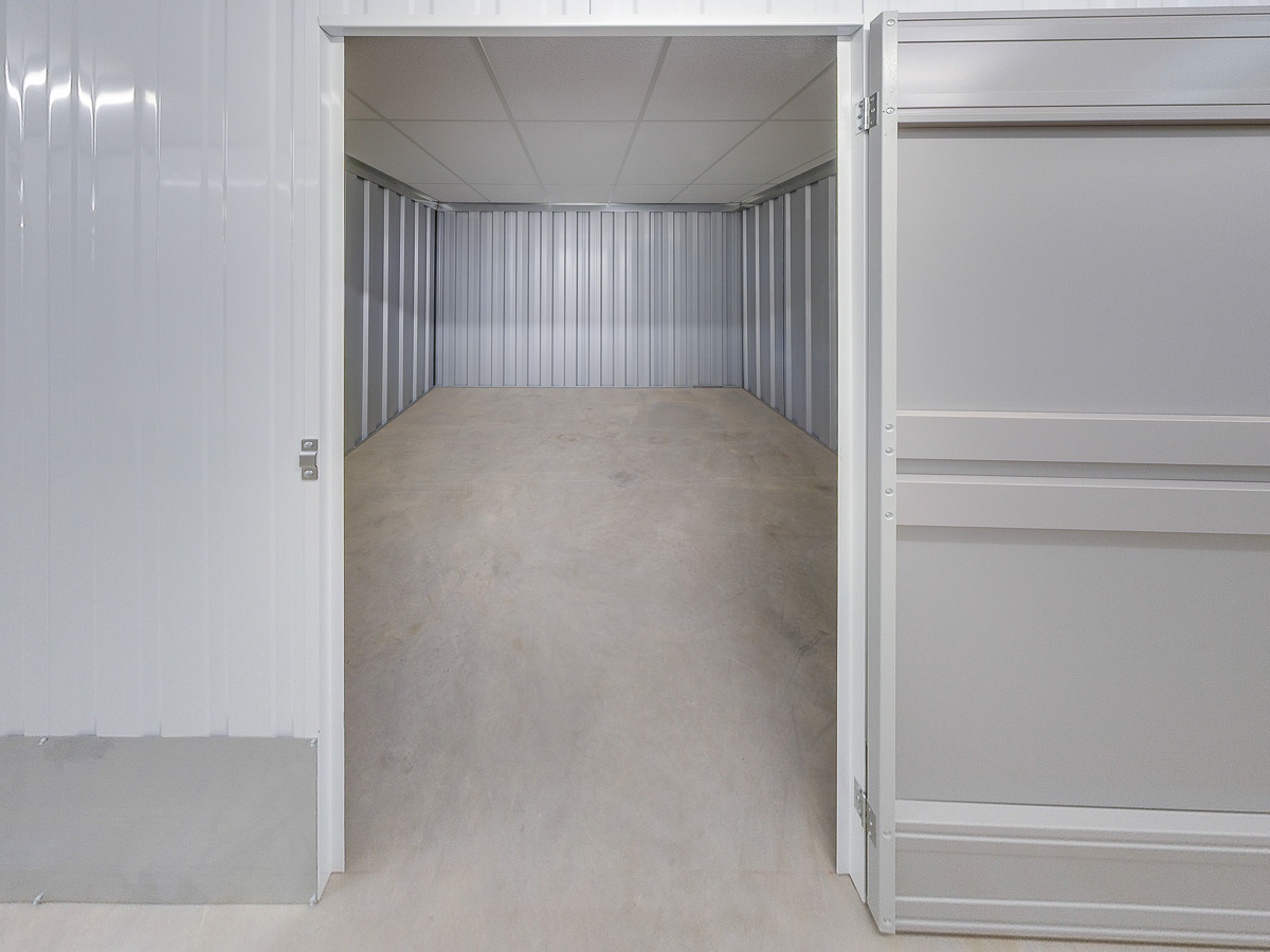 110 Square Ft Storage Room