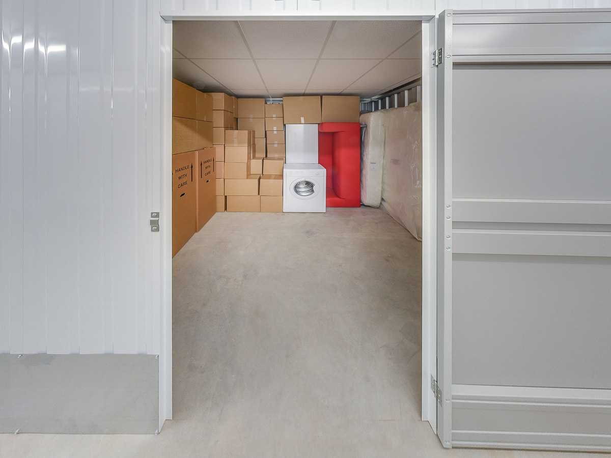 110 Square Ft Storage Room