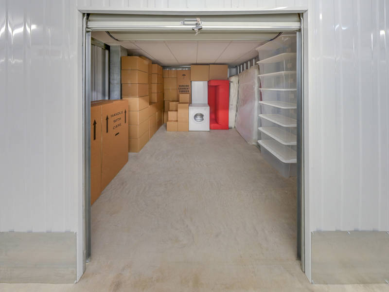 120 Square Ft Storage Room