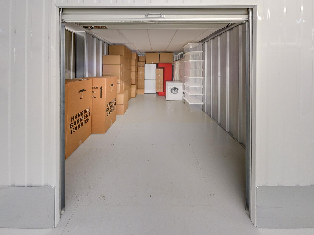130 Square Ft Storage Room