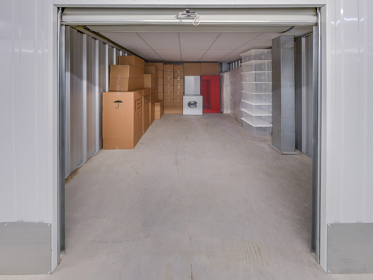 150 Square Ft Storage Room