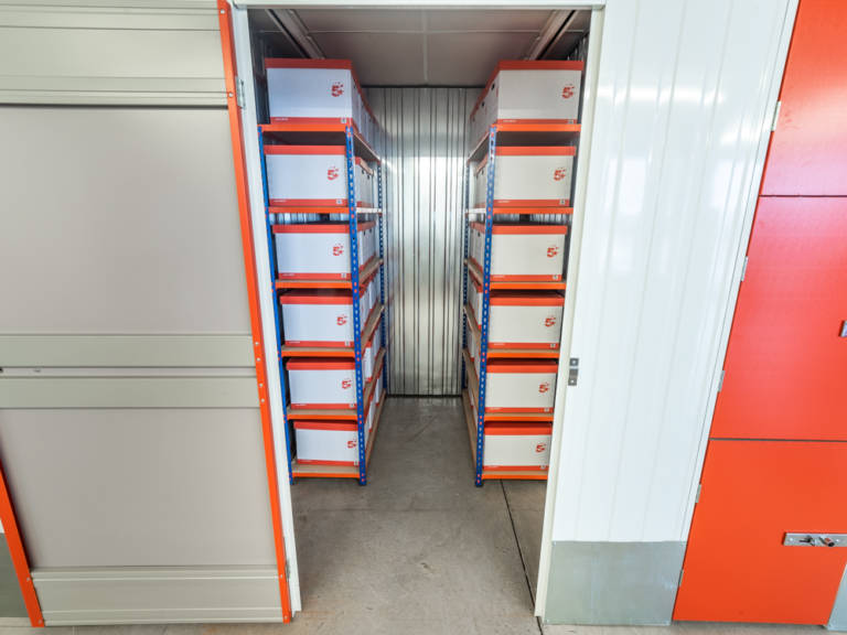 35 sq ft storage unit