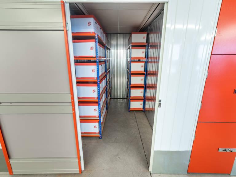 55 sq ft storage unit