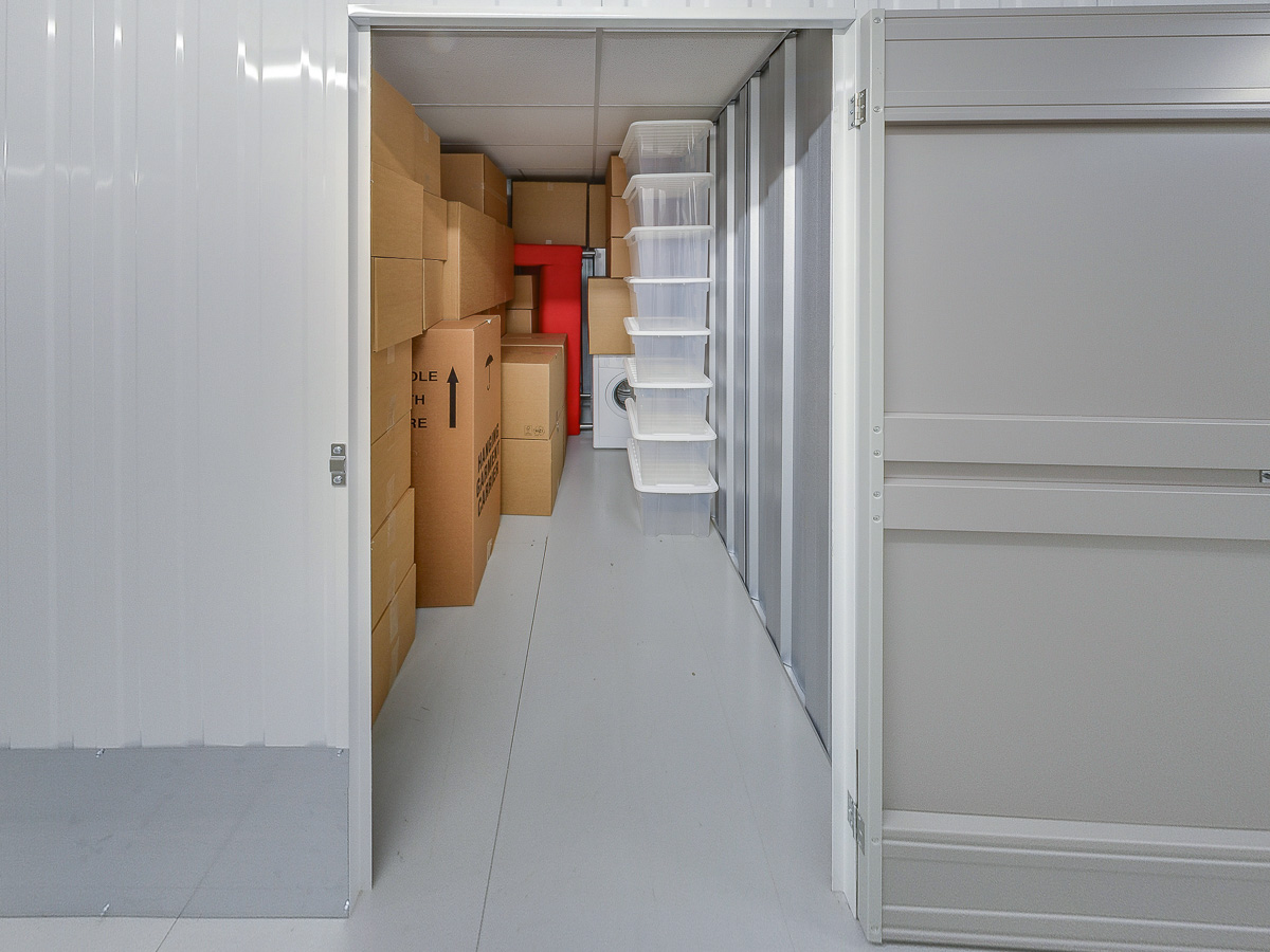70 Square Ft Storage Room