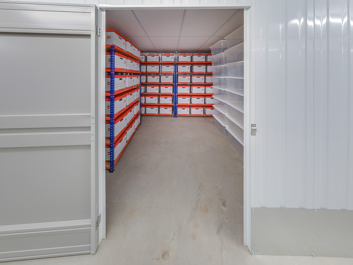 75 Square Ft Storage Room