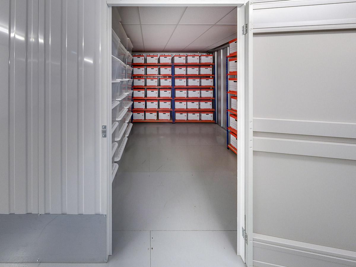 85 Square Ft Storage Room