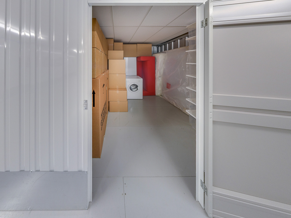 85 Square Ft Storage Room