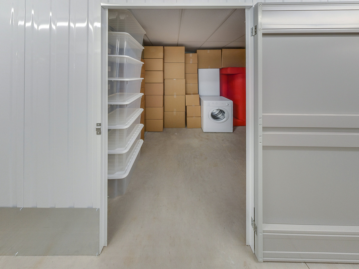 90 Square Ft Storage Room